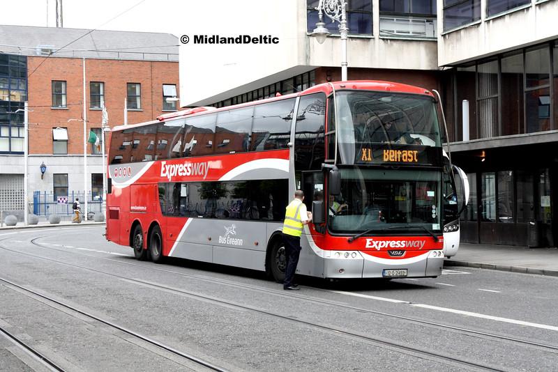 Bus Éireann LE3, Store St Dublin, 23-07-2016
