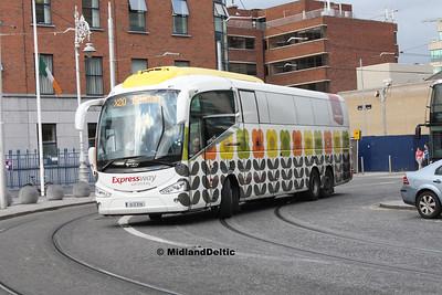 Bus Éireann SE25, Store St Dublin, 23-07-2016