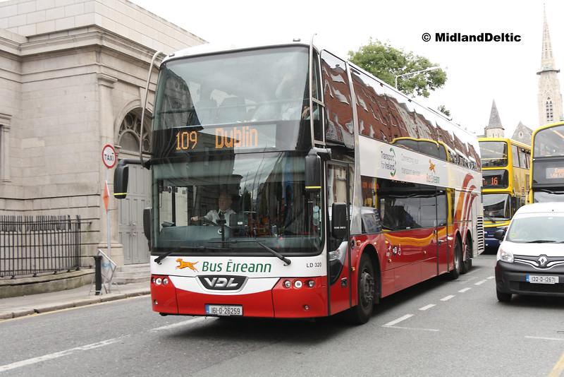 Bus Éireann LD320, Parnell Square East Dublin,