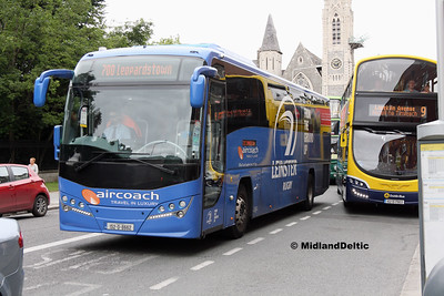 First Aircoach 152-D-8662, Parnell Square East Dublin, 23-07-2016