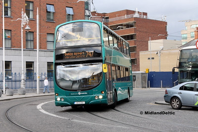 Dublin Bus VG48, Store St Dublin, 23-07-2016