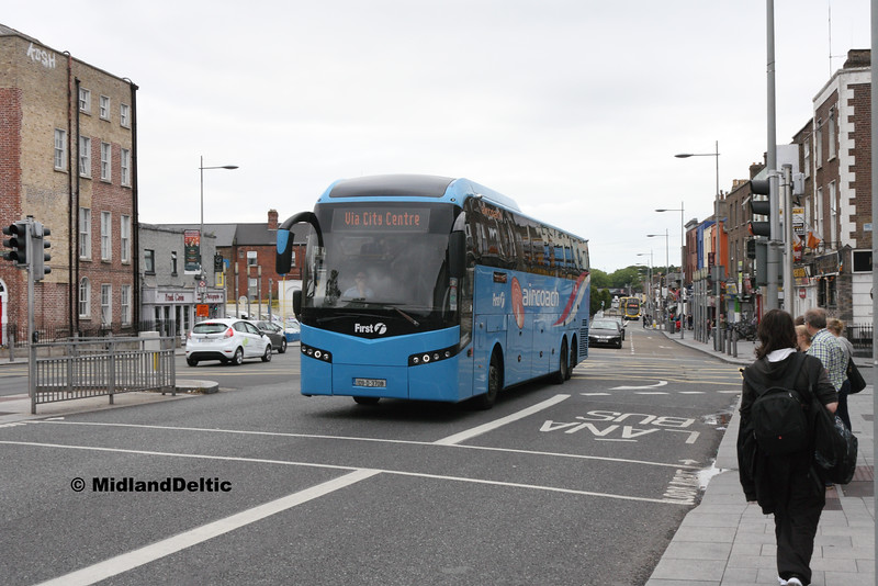 First Aircoach 09-D-3708, Dorset St Dublin, 23-07-2016