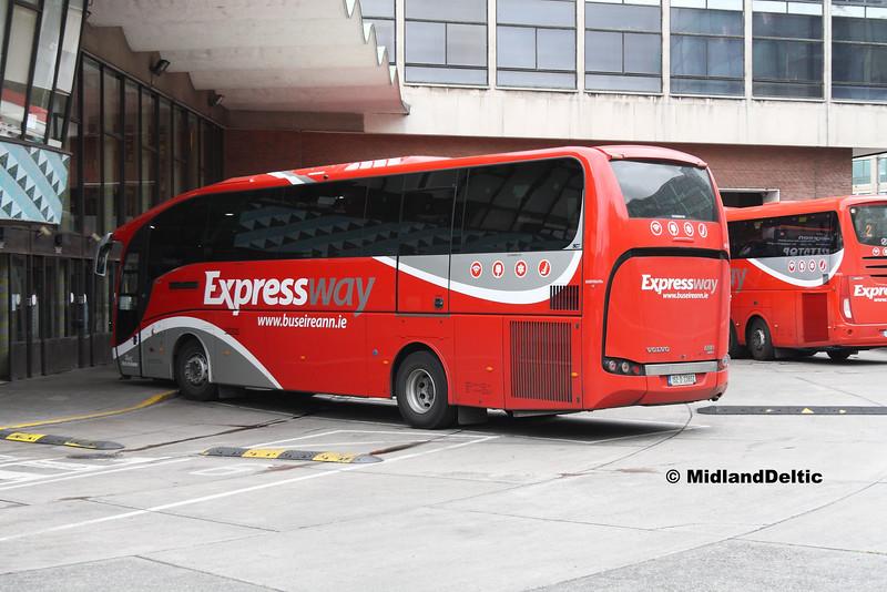 Bus Éireann VE12, Busáras, 25-07-2016