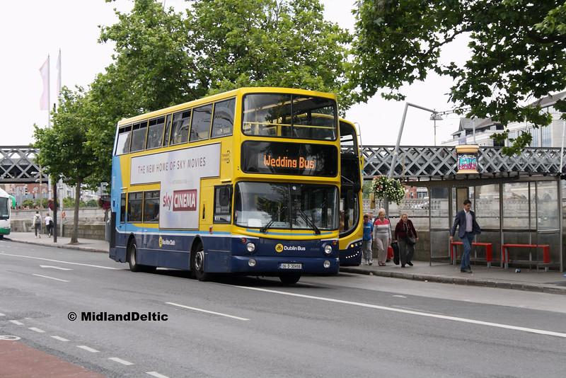 Dublin Bus AX456, Eden Quay Dublin, 25-07-2016