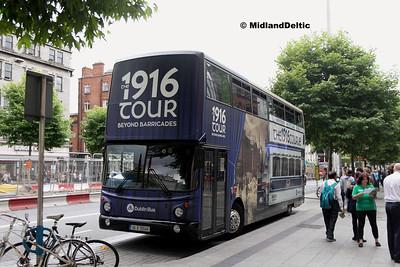 Dublin Bus AX544, O'Connell St Dublin, 25-07-2016