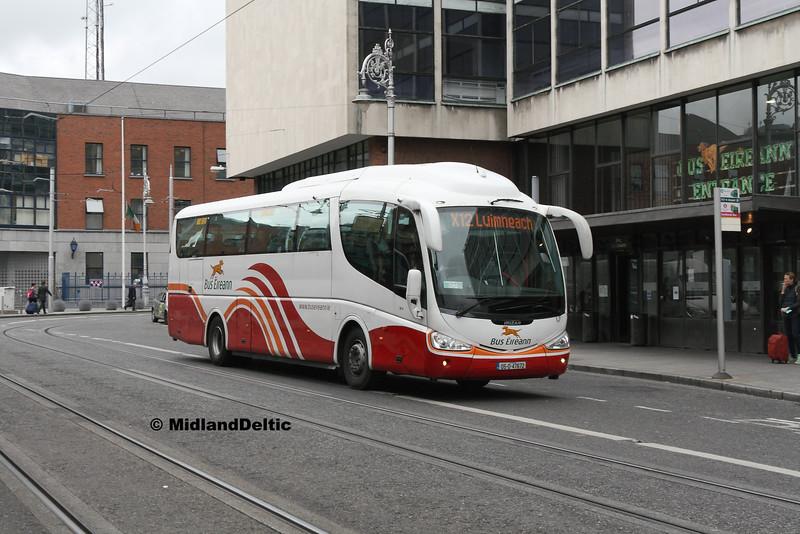Bus Éireann SP8, Store St Dublin, 25-07-2016