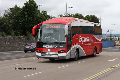 Bus Éireann VE12, East Wall Rd Dublin, 25-07-2016