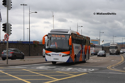 Wexford Bus 10-D-10675, East Wall Rd Dublin, 25-07-2016