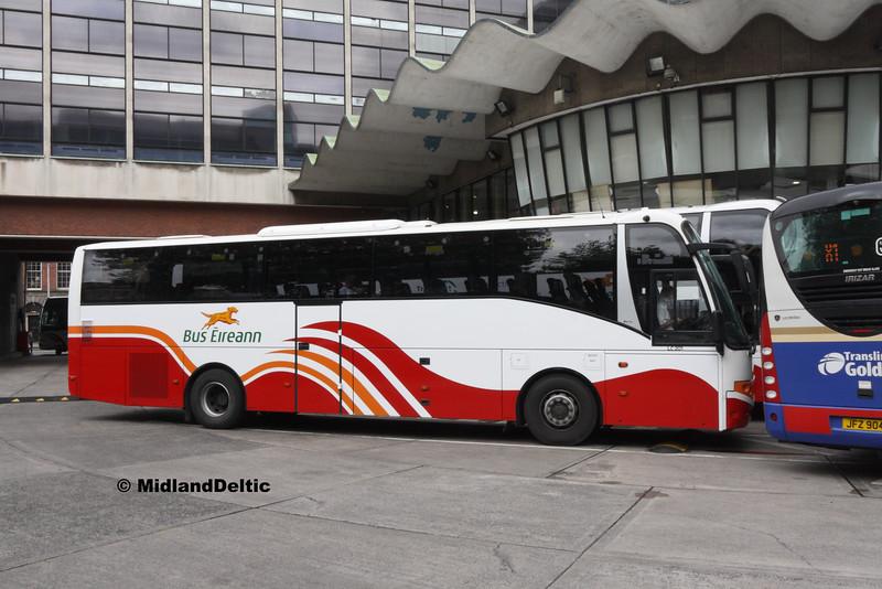 Bus Éireann LC201, Busáras, 25-07-2016