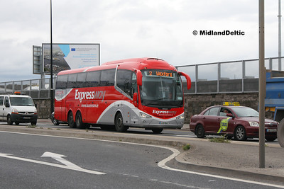 Bus Éireann SE3, East Wall Rd Dublin, 25-07-2016