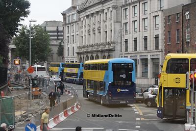 Dublin Bus SG195, College Green Dublin, 25-07-2016