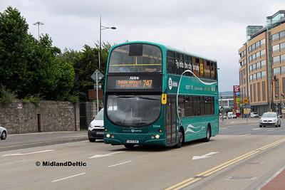 Dublin Bus VG44, East Wall Rd Dublin, 25-07-2016