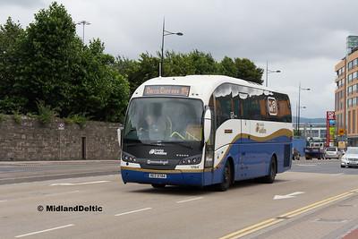Ulsterbus 1784, East Wall Rd Dublin, 25-07-2016