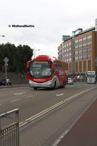 Bus Éireann SE27, East Wall Rd Dublin, 25-07-2016