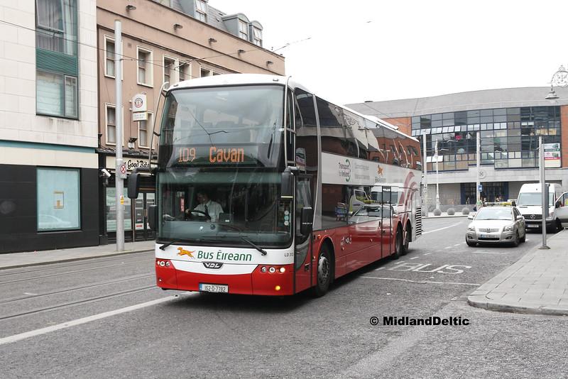 Bus Éireann LD312, Store St Dublin, 25-07-2016