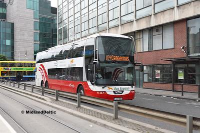 Bus Éireann LD322, Store St Dublin, 25-07-2016