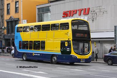 Dublin Bus SG192, Eden Quay Dublin, 25-07-2016