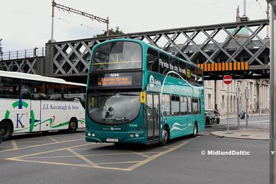 Dublin Bus VG46, Eden Quay Dublin, 25-07-2016