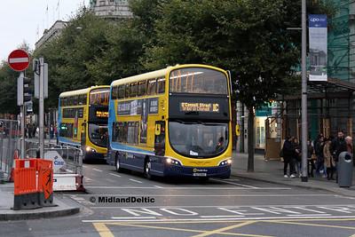 Dublin Bus SG214, O'Connell St Dublin, 31-10-2016