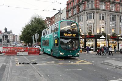 Dublin Bus VG29, O'Connell St Dublin, 31-10-2016