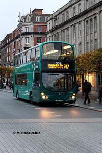 Dublin Bus VG39, O'Connell St Dublin, 31-10-2016