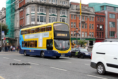 Dublin Bus SG2, O'Connell Bridge Dublin, 31-10-2016