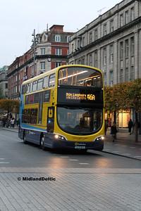 Dublin Bus SG118, O'Connell St Dublin, 31-10-2016