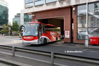 Bus Éireann LC23, Store St Dublin, 31-10-2016