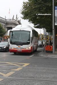 Bus Éireann SP3, O'Connell St Dublin, 31-10-2016