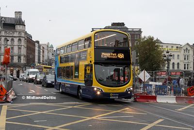 Dublin Bus SG36, O'Connell Bridge Dublin, 31-10-2016