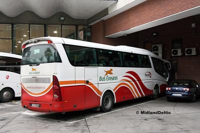 Bus Éireann SP70, Busáras Dublin, 31-10-2016
