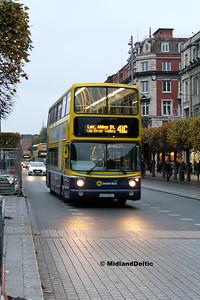 Dublin Bus AX526, O'Connell St Dublin, 31-10-2016