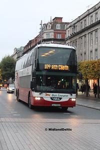 Bus Éireann LD320, O'Connell St Dublin, 31-10-2016