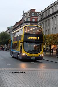 Dublin Bus SG17, O'Connell St Dublin, 31-10-2016