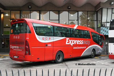 Bus Éireann SP101, Busáras, 31-10-2016