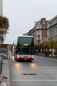 Bus Éireann LD318, O'Connell St Dublin, 31-10-2016