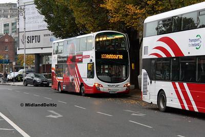 Bus Éireann VWD 19, Berresford Place Dublin, 31-10-2016