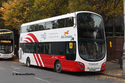 Bus Éireann VWD 23, Berresford Place Dublin, 31-10-2016