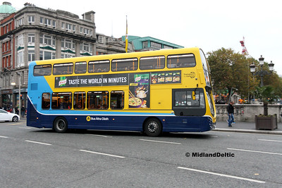 Dublin Bus SG143, O'Connell Bridge Dublin, 31-10-2016