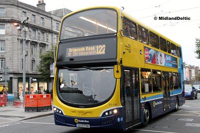 Dublin Bus SG135, O'Connell St Dublin, 31-10-2016