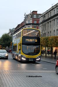 Dublin Bus SG105, O'Connell St Dublin, 31-10-2016