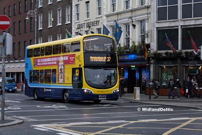 Dublin Bus SG132, D'Olier St Dublin, 31-10-2016
