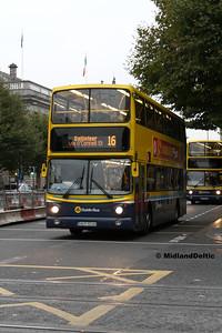 Dublin Bus AV338, O'Connell St Dublin, 31-10-2016