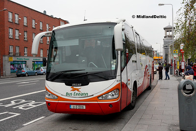Bus Éireann SC306, Amiens St Dublin, 31-10-2016