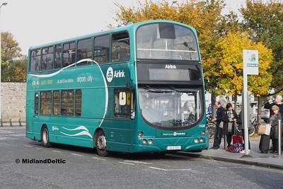 Dublin Bus VG41, Heuston Station, 31-10-3016