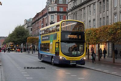 Dublin Bus SG96, O'Connell St Dublin, 31-10-2016