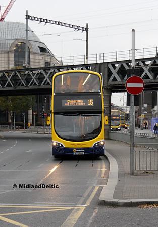 Dublin Bus SG248, Berresford Place Dublin, 31-10-2016