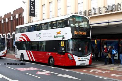 Bus Éireann VWD51, Sarsfield St Limerick, 10-12-2016