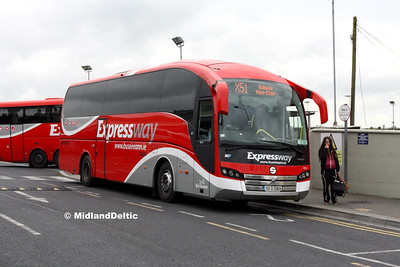 Bus Éireann VE14, Limerick Bus Station, 12-10-2016