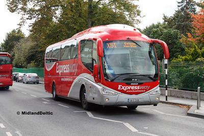 Bus Éireann SP120, Mallow St Upper Limerick, 12-10-2016